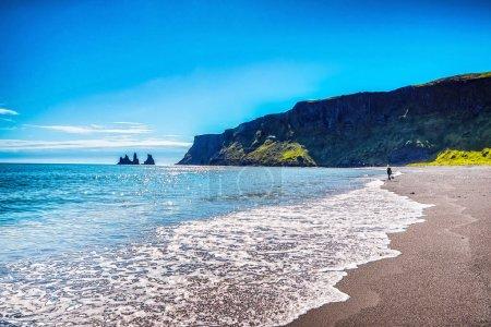 Beau paysage pittoresque de la nature islandaise