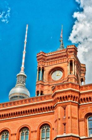Berlin City Hall: Rote Rathaus on Alexanderplatz