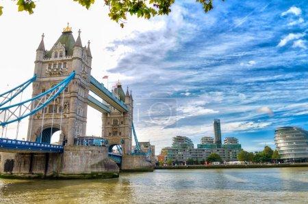 London, UK. Magnificent view of Tower Bridge