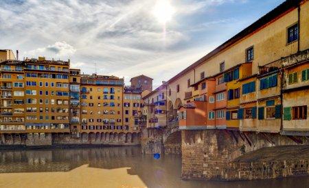 Old Bridge of Florence, Ponte Vecchio tourist attraction