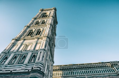 Florence - Campanile in Piazza Duomo