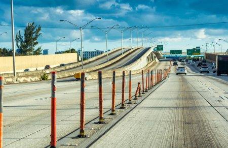 Main roads of Miami, Florida