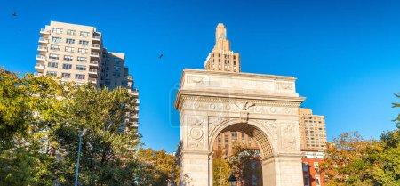 Photo for Buildings of Washington Square, Manhattan. - Royalty Free Image