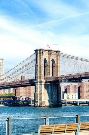 Brooklyn Bridge from Brooklyn promenade