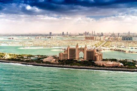 Photo pour L'île Palm Jumeirah de Dubaï. - image libre de droit