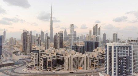 Downtown Dubai skyscrapers