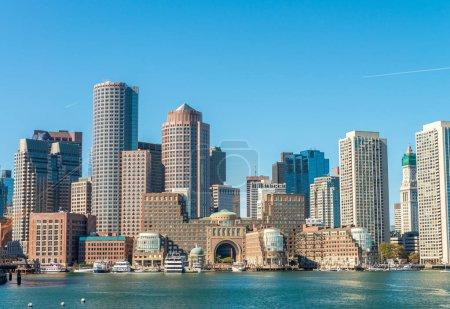 Boston skyline as seen from