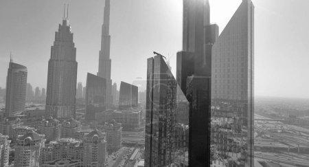 Dubai Downtown skyscrapers