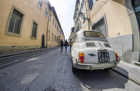Fiat 500 parked in a