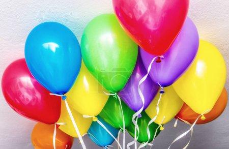 Photo pour Ballons colorés dans une partie. - image libre de droit