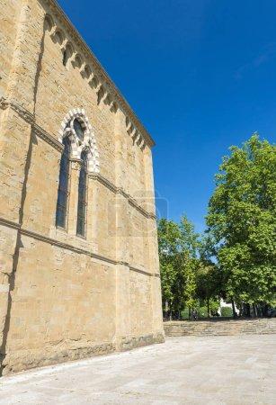 Arezzo medieval buildings, Tuscany