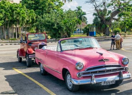 Colourful old car