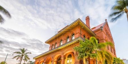 Colourful house of Key West, Florida