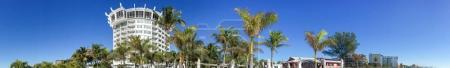 Panoramic view St Pete Beach, St Petersburg, Florida - USA