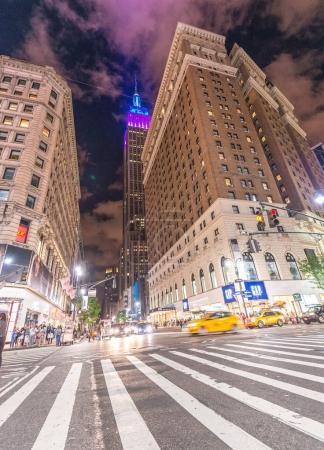 NEW YORK CITY - JUNE 2013: The Empire State Building. Empire Sta