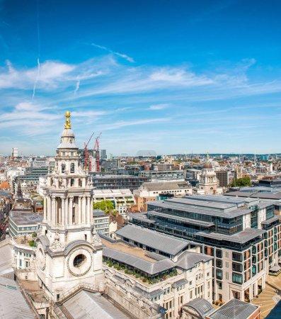 Old buildings of London, UK