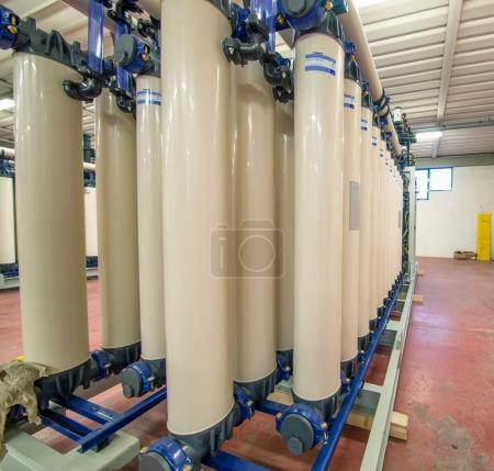 Pipelines for refinery plant. Petrochemical industry