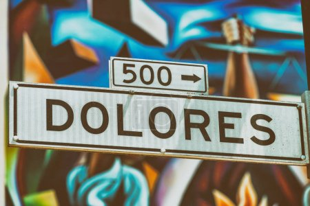 Dolores Street Road in San