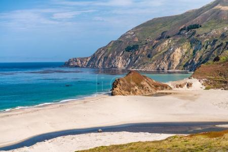 The Big Sur Beach and Coastline, California.