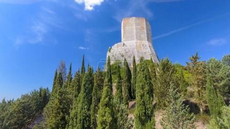 Castiglione Di Orcia, Italie. Vue aérienne de la Toscane