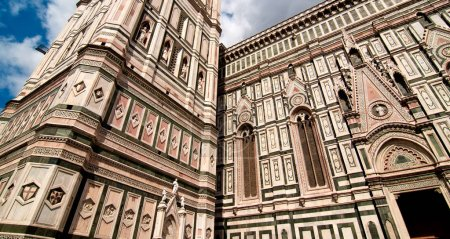 Architectural Detail of Piazza del Duomo in Floren...