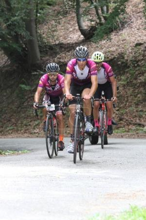 sportsmen during Fausto Coppi cycling race