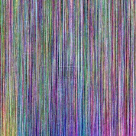 Foto de Patrón de líneas coloridas abstractas con colores vibrantes - Imagen libre de derechos