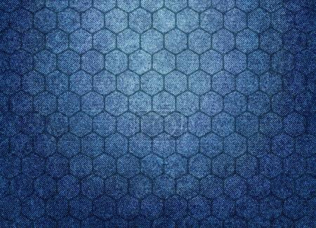 denim texture with geometry pattern