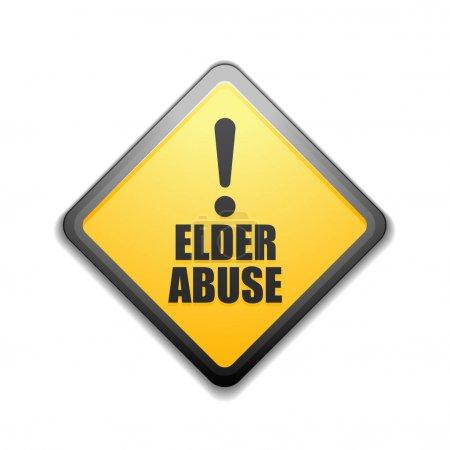Elder Abuse alarm sign