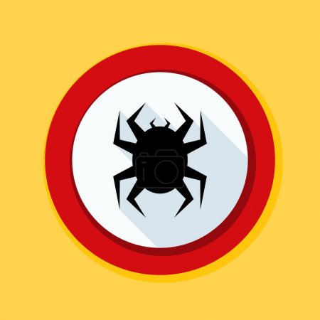 antivirus sign icon