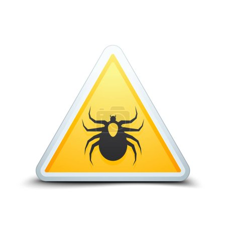 Ticks acarine danger sign