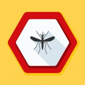 mosquito danger sign