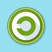 copyleft sign icon