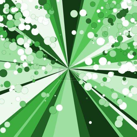 Foto de Colorida distribución aleatoria de la explosión computarizada ilustración de fondo de arte generativo. - Imagen libre de derechos