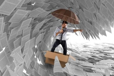 Concept of the storm of bureaucracy