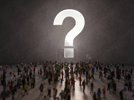 Confused people seeking  answers