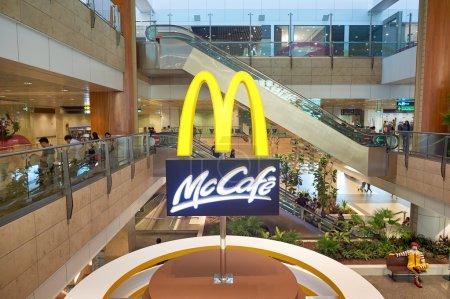 McCafe in Singapore Changi Airport