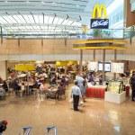 SINGAPORE - CIRCA NOVEMBER, 2015: McCafe in Singap...