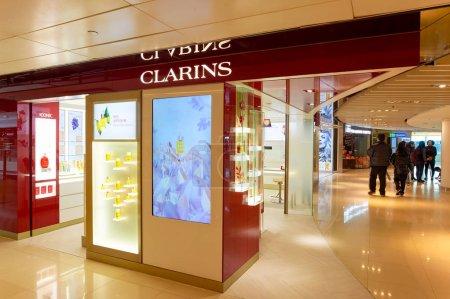 Clarins store in Hong Kong