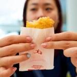 HONG KONG - CIRCA NOVEMBER, 2016: a woman eat in a...