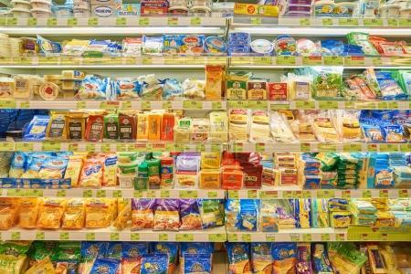 inside of Taste supermarket