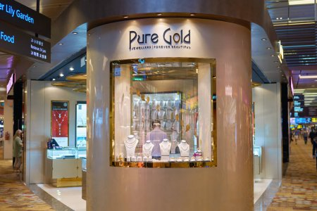 Pure gold store