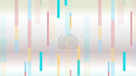 Photo for Abstract colorful geometric minimal background - Royalty Free Image
