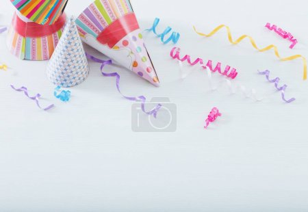 Background of balloons for birthday