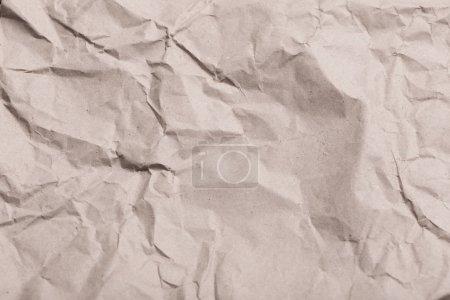 Photo pour Le vieux papier froissé - image libre de droit