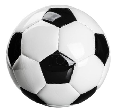traditional black and white football