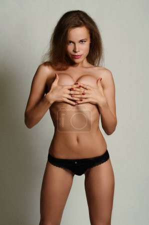 Caucasian sexy woman