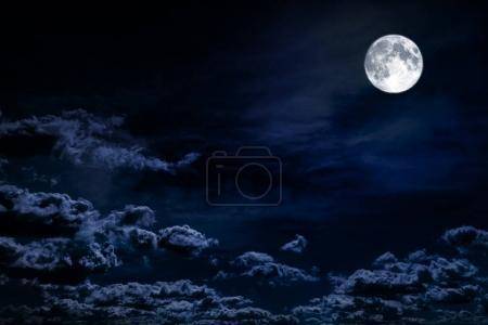background night sky with stars