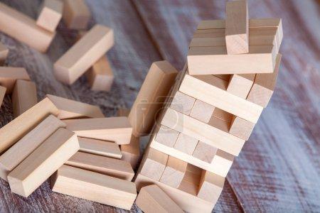 Wooden  blocks  game