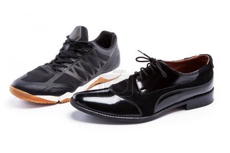 the black men's shoes